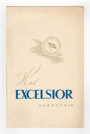 MUO-008305/20: Hotel EXCELSIOR Dubrovnik: cjenik
