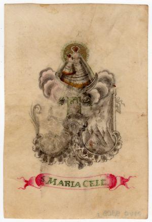 MUO-009308/03: S Maria Cell: sveta sličica