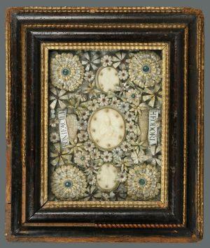 MUO-002712: Papa Inocent XII s relikvijama sv. Teodora i sv. Bonifacija: relikvijar