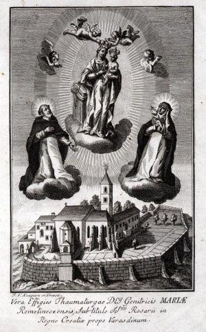 MUO-008071: Čudotvorna Majka Božja iz Remetinca: grafika