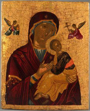 MUO-006125: Bogorodica: slika