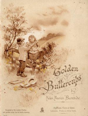 MUO-021275: Golden Buttercups by Helen Marion Burnside: slikovnica