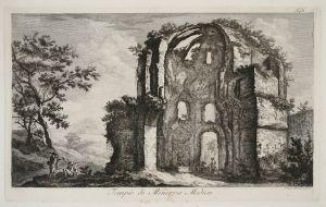 MUO-048467/32: Tempio di Minerva Medica: grafika