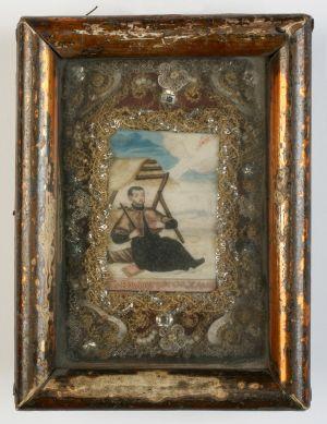 MUO-004683: Sv. Franjo Ksaverski: relikvijar
