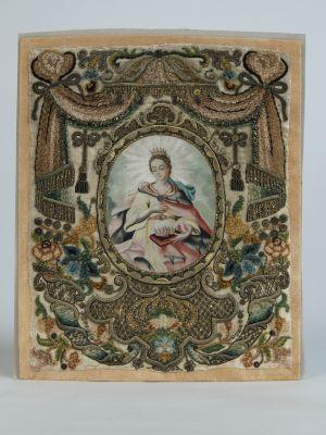 MUO-004734: Sv. Elizabeta Ugarska: posvetna slika