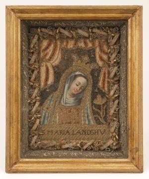 MUO-007118: Madona s nagnutom glavom: relikvijar