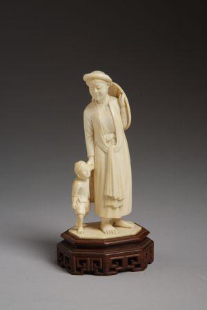 MUO-017220: Kineskinja s djetetom: figura