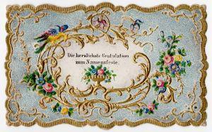 MUO-008347: Die herzlichste Gratulation zum Namensfeste: čestitka
