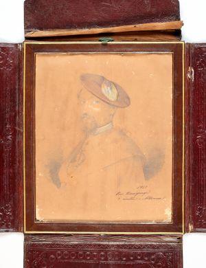MUO-007133: Muškarac s crvenom beretkom: minijatura