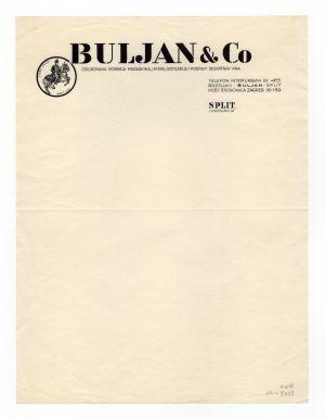 MUO-008307/14: BULJAN & CO: listovni papir