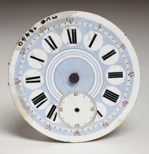MUO-013460: mehanizam, brojčanik džepnog sata