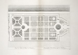 MUO-055694/08: Tlocrt vrta palače Tuileries: grafika