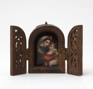 MUO-054856: Bogorodica s djetetom: minijatura