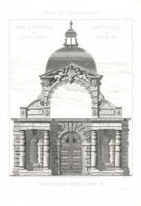 MUO-017168/01: Palais de Fontainebleau: grafika
