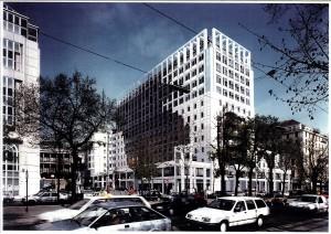 MUO-057475: Preoblikovanje fasade zgrade Gartenbau, Parkring 12, Beč: arhitektonska studija