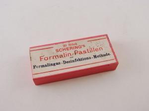 MUO-013351/04: Schering's Formalin-pastillen: kutija