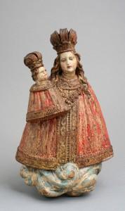 MUO-013845: Bogorodica s djetetom: statueta