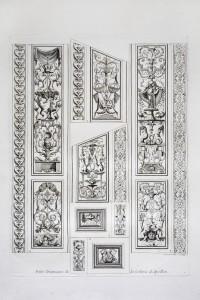 MUO-055695/04: Mali paneli zidnog oslika u Apolonovoj galeriji: grafika