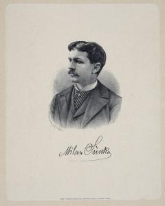 MUO-005469: Portret slikara Milana Sunka: grafika
