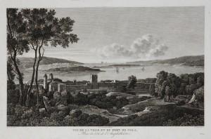 MUO-055866: Vue de la ville et du port de Pola: grafika
