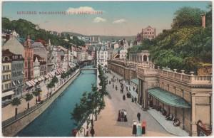 MUO-008745/113: Karlsbad - Kreuzstrasse: razglednica