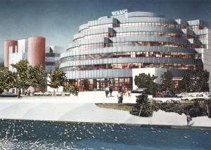 MUO-057448/03: Poslovna zgrada Wang, Heiligenstädter Lände 29, Beč: arhitektonska studija