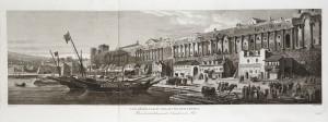 MUO-055860: Veduta Dioklecijanove palače: grafika