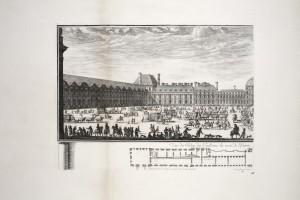 MUO-055694/03: Pogled na palaču Tuileries s ulazne strane 1: grafika
