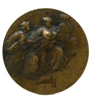 MUO-000650: PLES HRVATA U BEČU 1912: medalja