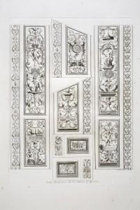 MUO-055695/03: Mali paneli zidnog oslika u Apolonovoj galeriji: grafika