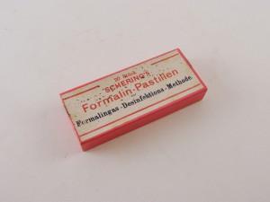 MUO-013351/03: Schering's Formalin-pastillen: kutija