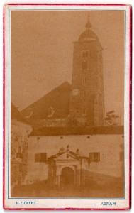MUO-005551/15: Stara zagrebačka katedrala: fotografija