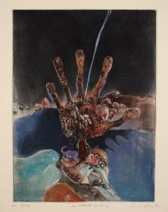 MUO-055432: La main du vagabond (Ruka skitnice): grafika