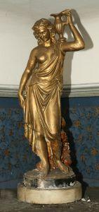 ZAG-0073: Dekorativna figura: skulptura