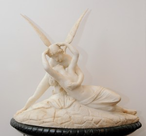 ZAG-0003/01: Amor i Psyche: skulptura