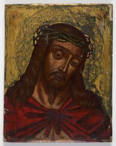 MUO-004235: Krist s trnovom krunom: slika