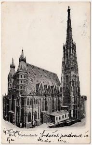 MUO-008745/296: Beč - Katedrala Sv. Stjepana: razglednica