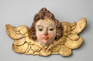 MUO-006972: anđeoska glavica: reljef