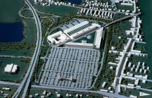 MUO-057457: Trgovački centar Shopping City II, Triesterstrasse, Beč: arhitektonska studija