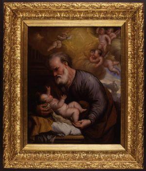 MUO-000055: Sv. Josip: slika