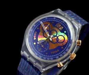 MUO-032018: Chrono Swatch I.O.C.: ručni sat