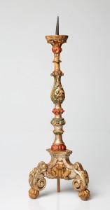 MUO-002836: oltarni svijećnjak: svijećnjak