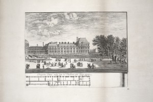 MUO-055694/02: Pogled na palaču Tuileries 2: grafika