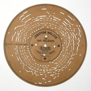 MUO-008403/01: Jonathan Walzer: ploča