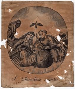 MUO-007459: Sv. Trojstvo: crtež