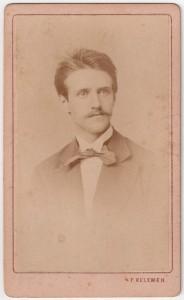MUO-005755/26: Portret mlađeg muškarca: fotografija