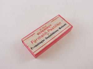MUO-013351/05: Schering's Formalin-pastillen: kutija