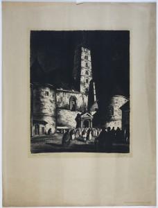 MUO-015874/02: Stara katedrala: grafika