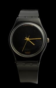 MUO-018235: Swatch Black Magic: ručni sat