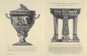 MUO-057436/90: Žara za pepeo od terakote [...] / Drugi izgled antičkog mramornog tripoda [...]